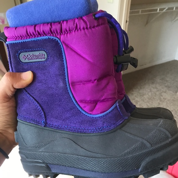 Columbia Other - COLUMBIA Insulated Snow boots. Kids size 11 ❤️